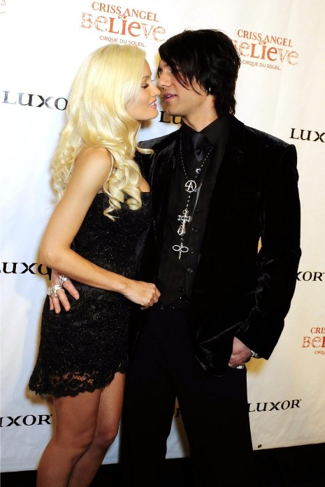 Did holly madison hookup criss angel