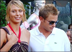 Maria sharapova and andy roddick dating
